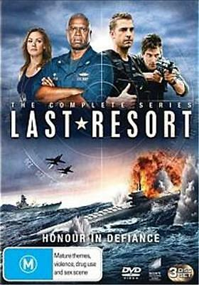 LAST RESORT The Complete Series : NEW DVD