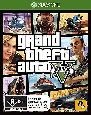 Grand Theft Auto V 5 GTA V Xbox One Brand New Sealed