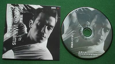 Robbie Williams Greatest Hits inc Angels / Strong + Chinese Issue CD