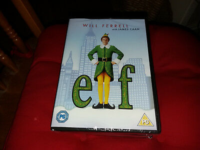ELF  will ferrell  new and sealed  christmas film