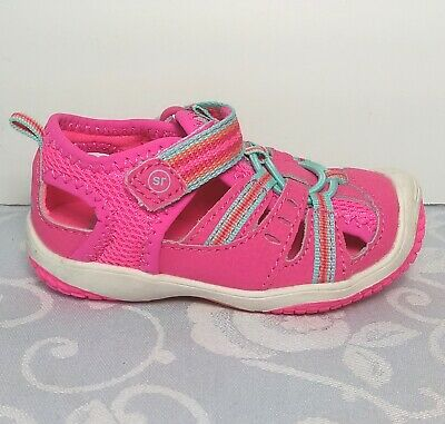 9cdf63b6df8f STRIDE RITE TODDLER Girls size 5 Pink Sandals Petra Water Shoes ... stride  rite