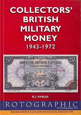 Collectors British Military Money Banknote Price Guide Book Rotographic 1943-72