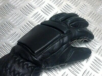 Genuine British Military & Security Forces Leather Tactical Gloves  - Odd Pair