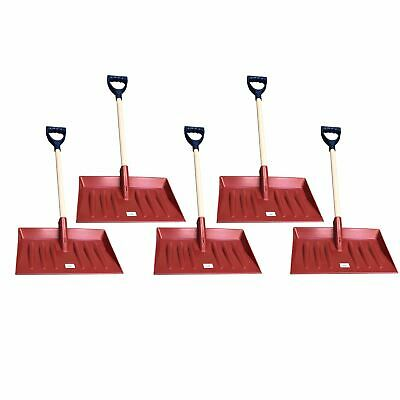 5 Snow Leaf Grass Shovel Scoop Remover Removal Clearer Clearing Short Handle