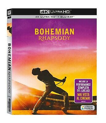 Bohemian Rhapsody  Blu-Ray 4K Ultra Hd+Blu-Ray