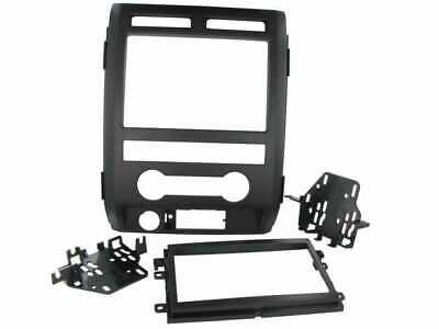 Mascherina autoradio KIT 2 DIN nera Ford F150