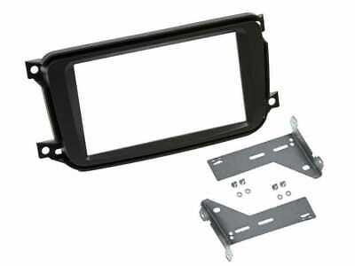 Mascherina autoradio KIT 2 DIN nera Smart ForTwo