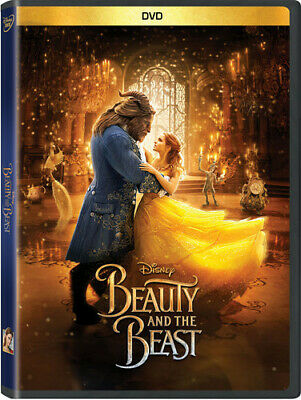 Beauty & The Beast (Live Action) (2017, DVD New)