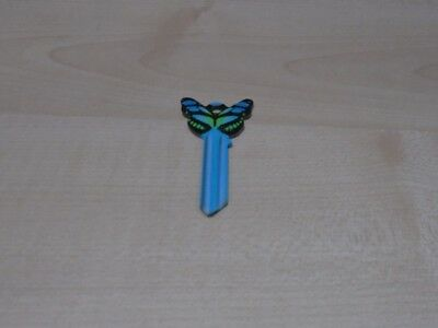 Butterfly UL1 House Key Blank Main Colour Blue