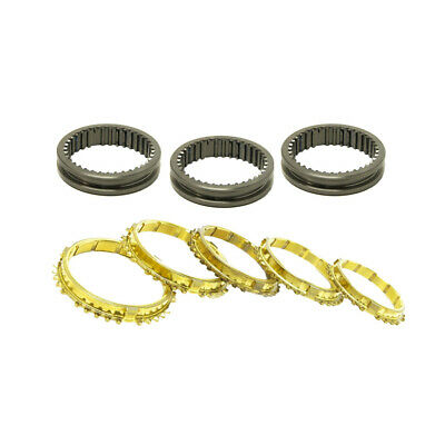 Synchrotech For Honda Civic Crx B16 Cable A1 J1 Y2 Brass Sleeve Set 3Rd-4Th