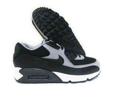 new concept 65023 aeff5 537384-053 Nike Air Max 90 Essential (Black   Wolf Grey) Men Sneakers