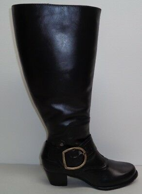 9b0e4bdc394e Walking Cradles Size 5 M EXTRA WIDE CALF CLARITY Black Boots New Womens  Shoes