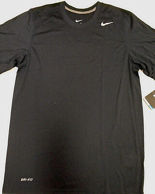 MENS NIKE DRI-FIT LEGEND CREW TEE Navy/White -371642 475-