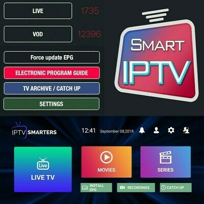 IPTV 12 MONTH Book For Smart Tv , Android Box, Lunix, Mag