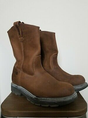 66f0b63720c Wolverine Floorhand 10   Wellington Men s Work Boots Size 9.5 Extra Wide  Brown