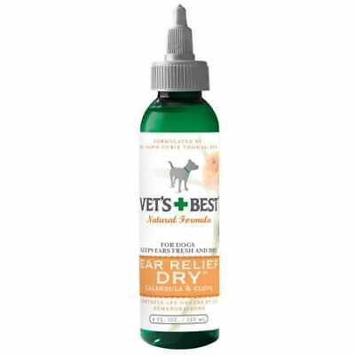 Vet's Best Natural Ear Relief Dry for Dogs 4 oz