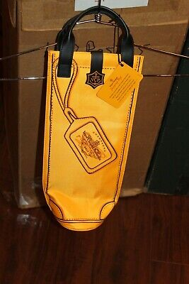 Veuve Clicquot Shopping Bag insulated Champagne wine Bottle Carrier NEW