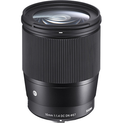Sigma 16mm f1.4 DC DN Contemporary Lens - Sony And Mount