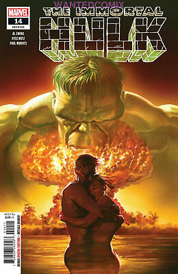 Immortal Hulk #14 Al Ewing Alex Ross Mar 2019 Sold Out Marvel Comic Book New 1