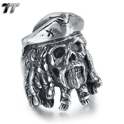 High Quality TT 316L Stainless Steel Pirate Ring (RZ192) 2019 NEW