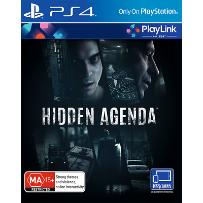 Hidden Agenda PS4 Playstation 4 Brand New Sealed