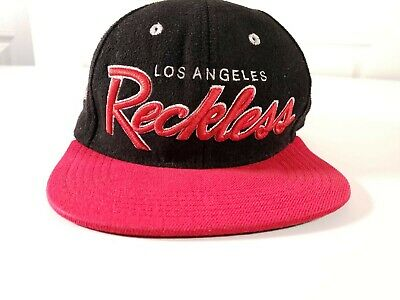 c70ab974b6f63 YOUNG   RECKLESS - Y r Los Angeles Black Red Baseball Snapback Hat ...