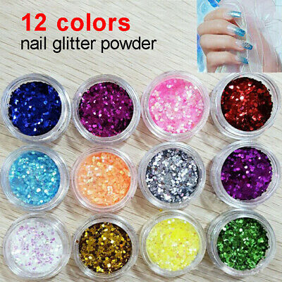 Chunky Glitter Loose Mix Pot Eyeshadow Nail Face Tattoo Festival Club Cosmetic