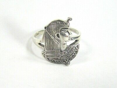 Egyptian SOLID .925 Sterling Silver Ring - Sizes 6-9