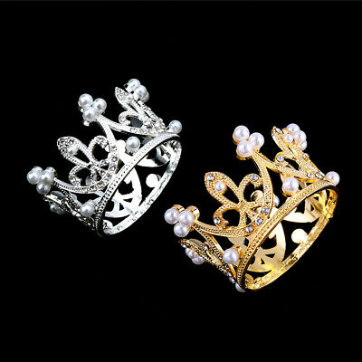 Girls Boys Newborn Photography Gold Crown Props Little Baby Photo shooting Props