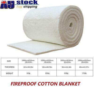 AU Fiber Blanket High Temperature Insulation Refractory Fireproof Cotton Blanket