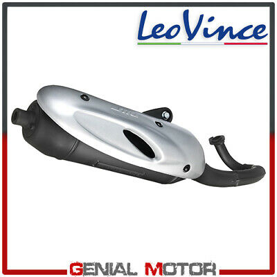 Complete Exhaust System Leovince Sito Aprilia Scarabeo 50 Street Air 2006 > 2007