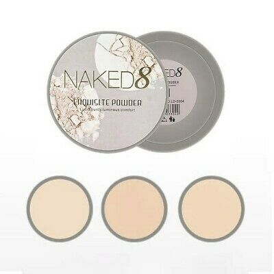 Powder Maquillaje Naked 8