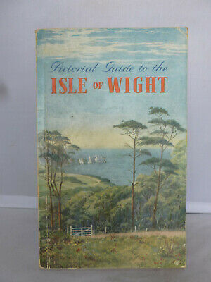 Tourist Pictorial Guide to the Isle of Wight - Stoker - 50 Illustrations & a Map