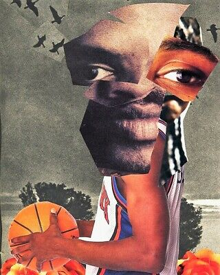 The Ghost of Sprewell - Limited Edition Screen Print by Rontaye Butler