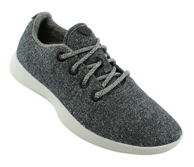Allbirds Mens Wool Runner Gray Fashion Shoes Size 8