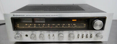 Vintage HIFI - Tuner Amplifier Kenwood KR-6030 Stereo FM-AM Receiver 1970er