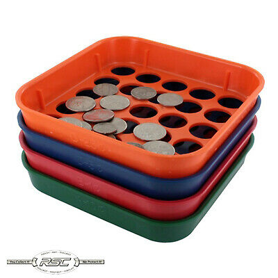 MMF Industries Speed Sort - Coin Sorting Trays for Penny, Nickel, Dime & Quarter