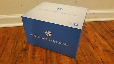 Official HP Mixed Reality Controllers ONLY (2018) - Black No Headset