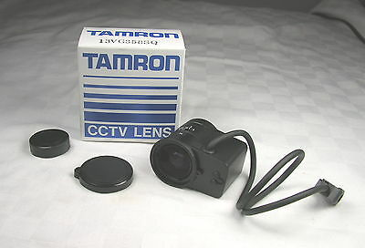 "Tamron CCTV Lens - 13VG358SQ new in box - 1/3"" 3.5-8mm - CS Mount"