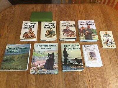 Lot of 10 James Herriot Great & Small Series Dog Cat Yorkshire