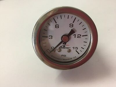 AUTO FUEL PRESSURE GUAGE NEW UNBOXED road race rally