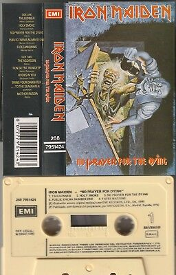 IRON MAIDEN No prayer for the dying SPANISH CASSETTE