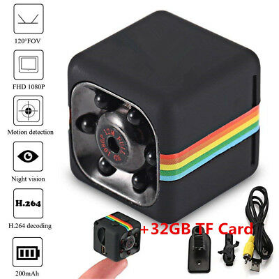 COP CAM New Security Camera Motion Card Night Vision Recorder Detection+TF32GB