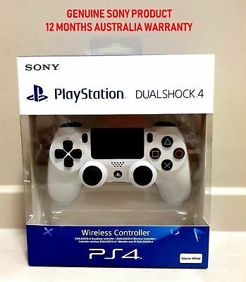 Genuine Sony Playstation 4 PS4 Controller v2 DualShock White Brand New Sealed
