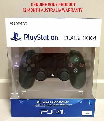 Genuine Sony Playstation 4 PS4 Controller v2 DualShock Black Brand New Sealed