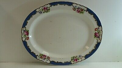 Antique Victorian Booths Silicon China Plate England Sevres 92424 W Stamp Base