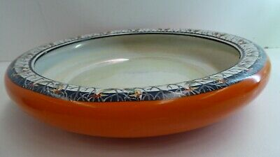 Empire Ware Epc Stoke On Trent Lustre Bird Float Bowl Centre Piece Art Deco
