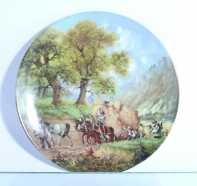 """Collection Plate Seltmann Weiden """" at the Hay Harvest """" with Certificate"""