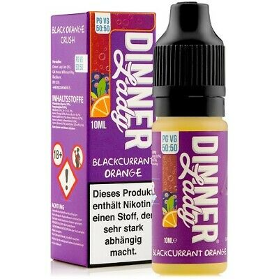 Dinner Lady Blackcurrant Orange eLiquid 10ml