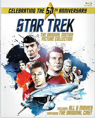 Star Trek: Original Motion Picture Collection - 6 DISC SET (2016, Blu-ray New)
